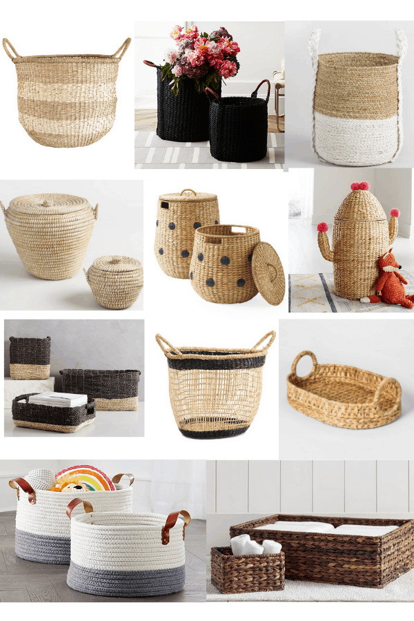 7 Stylish Ways To Decorate With Wicker Baskets - Making Home ...