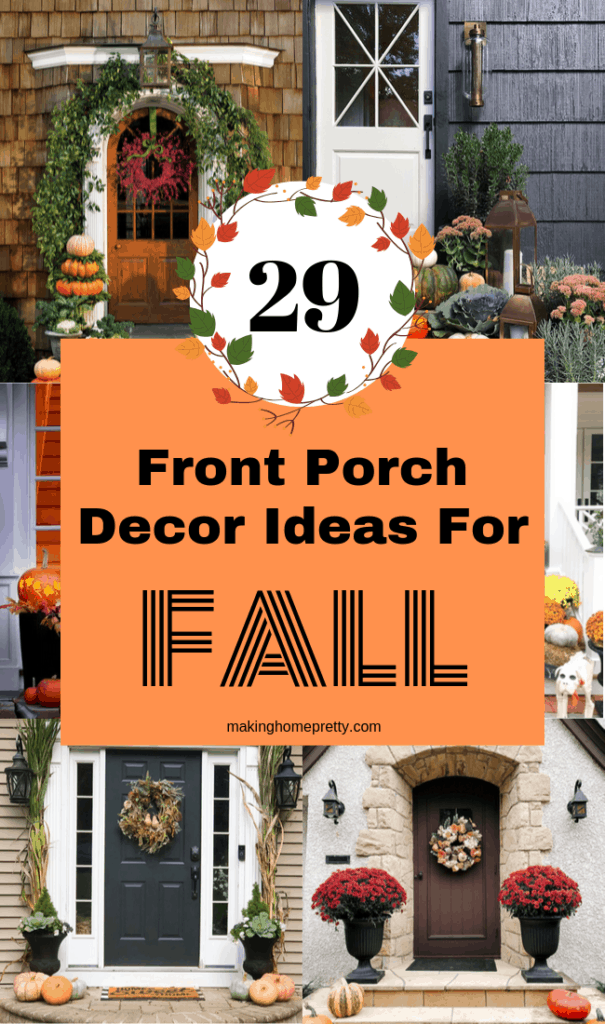 29 Beautiful Fall Front Porch Decorating Ideas Making Home Pretty