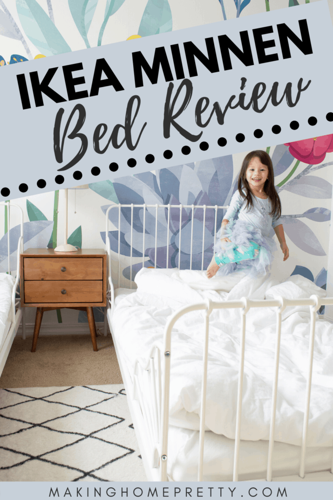 Ikea Minnen Bed Review The Perfect Toddler Bed Making Home Pretty