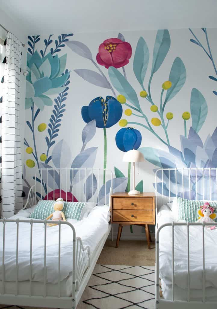 A Happy Floral Toddler Girl Room Making Home Pretty