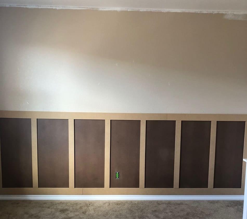 Easy $100 DIY Board And Batten