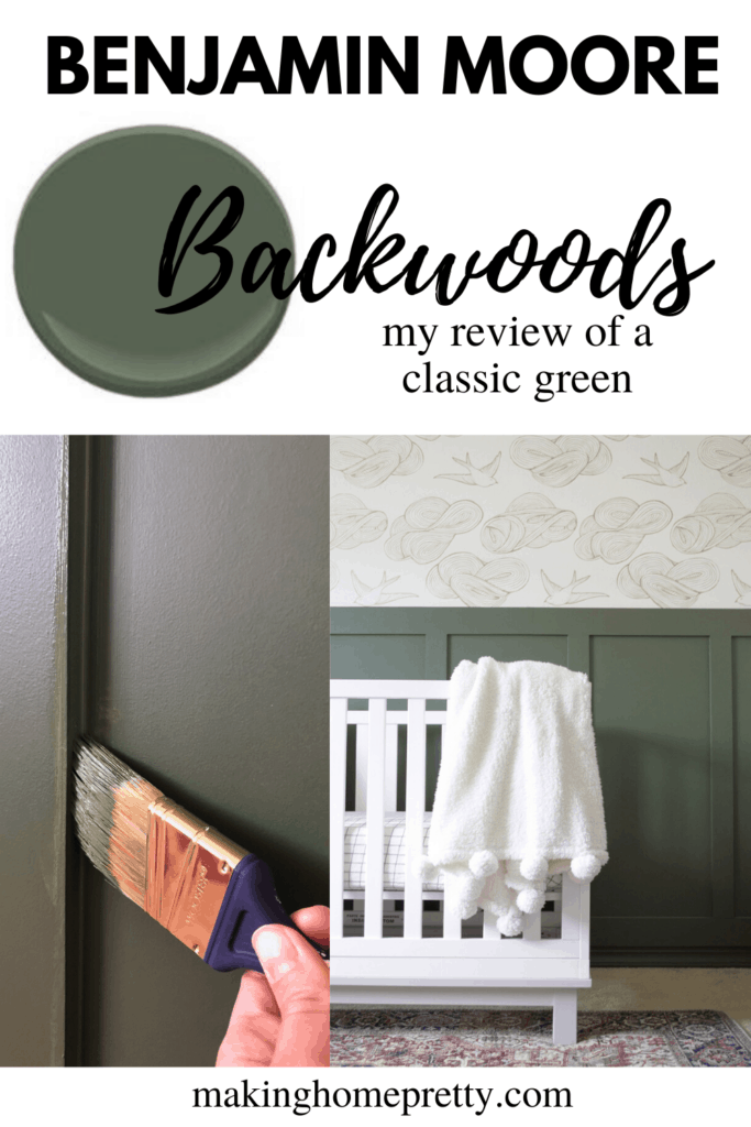 Benjamin Moore Backwoods Green Paint Review Making Home Pretty